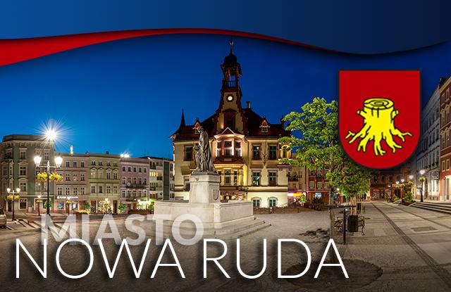 Grafika aplikacji mobilnej miasta Nowa Ruda