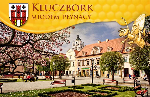 Grafika aplikacji mobilnej miasta Kluczbork